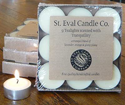 St Eval Natural Scented Tealights X 9 - Tranquility from St Eval