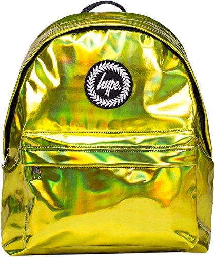 Hype Rucksack Tasche - Verscheidene Farben Holographic Yellow