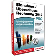 Data Becker Einnahme-/Überschuss-Rechnung 2012 pro - Software de análisis financiero (800 MB, Windows 7 SP1, Vista SP2, XP SP3, DEU)