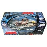 McFarlane-Film maniaques-Series 4(mm4)-Jaws Deluxe Box Set avec les requins, le bateau et d'autres accessoires personnalisés.