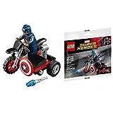 LEGO MAVEL SUPER HEROES - 30447 - CAPTAIN AMERICA MOTORCYCLE Collector...