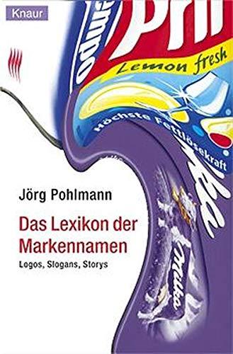 Lexikon der Markennamen: Logos, Slogans, Storys