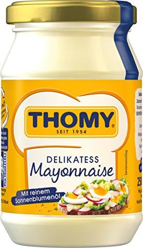 Thomy Delikatess-Mayonnaise mit reinem Sonnenblumenöl, 250ml