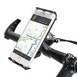 mmrm Universal Fahrrad Lenker Halterung Halter 360Grad drehen verstellbar für iPhone Samsung IOS Android Smartphone GPS