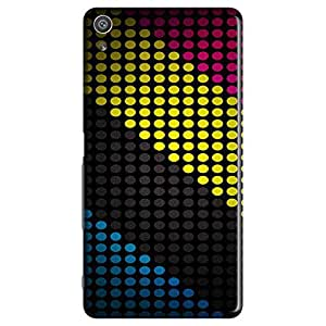 Mobo Monkey Designer Printed Back Case Cover for Sony Xperia XR (Polka Dots :: Stripes :: Colorful :: Texture :: Pattern)