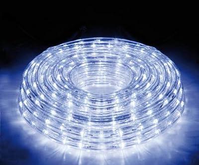 10M 360er LED Lichtschlauch Warm-Weiß für Außen und Innen von E-Lektron - Lampenhans.de