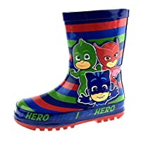 PJ MASKS Boys Rubber Wellington Boots