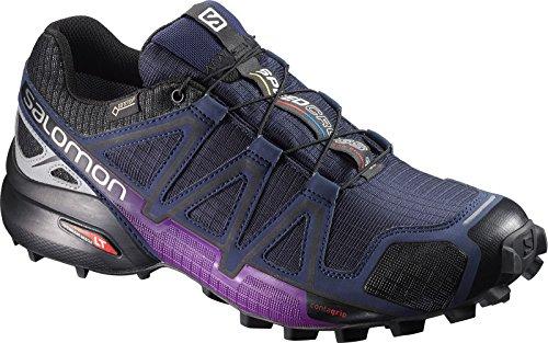 Salomon Speedcross 4 Nocturne Gtx W, Scarpe da Escursionismo Donna Multicolore (Ev Blue/Si)