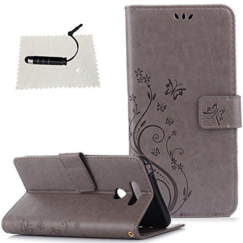 TOCASO-Tasche Luxus Hülle für LG G6 Leder Hülle, Handytasche SchutzHülle Brieftasche Wallet Flip für LG G6, Leder Hülle Mit Muster...