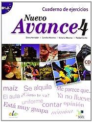 Nuevo Avance 4. Cuaderno de ejercicios (inkl. CD): Curso de español. Nivel B1.2