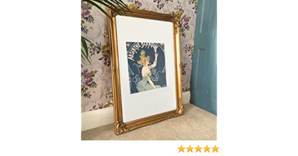 Large Classic Gold Gilt Picture Frame (3ft x 2ft 2\