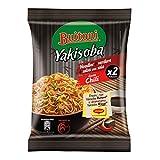 Maggi Yakisoba Gusto Chili Noodles Istantanei con Verdure e Salsa con Soia, 8 Confezioni da 120 g, 16 Porzioni