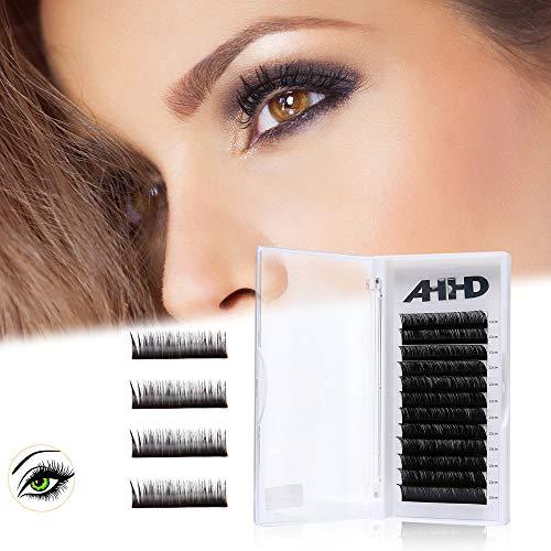643cbe6b4ae Individual Eyelash extension D Curl 0.05 mm 11 ~ 13 MM piatto Lashes  semi-permanente
