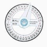 Rapporteur circulaire à 360° 10cm