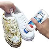 White Shoes Cleaners Agente blanqueador, zapato Whitener Artifact Brush Zapatos deportivos Clean Dry Cleaning