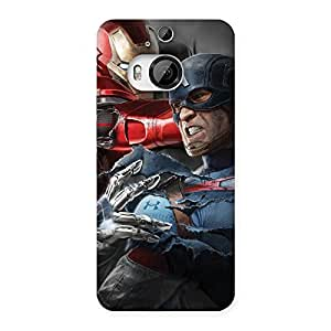 Ajay Enterprises Designer 101763 Printed Back Case Cover for HTC One M9 Plus