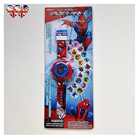 The Amazing Spider-Man Montre Pour Les Enfants (En raison d'une forte demande de ce produit est actuellement en rupture de stock et sera de retour en stock dans les 8 jours