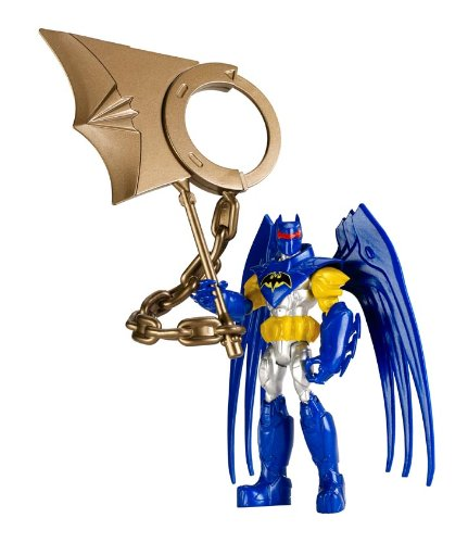 Mattel - Batman Action Wing Figur [UK Import] (Batman Wings Action-figuren)