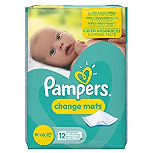Pampers Baby Changemats (Total 12 Mats)