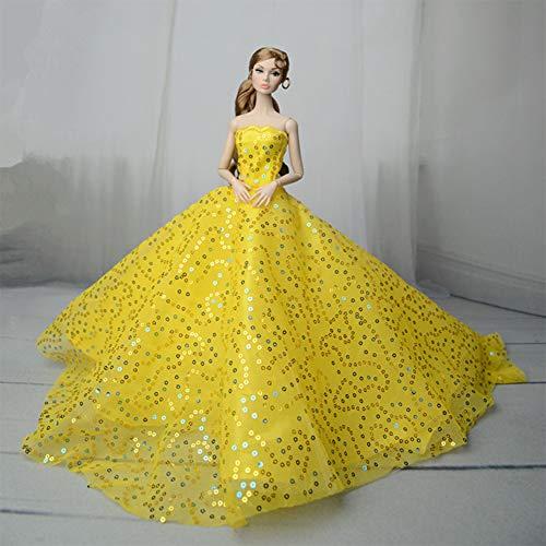Lan Mode Kleid hochzeitskleid Prinzessin Kleid Kleidung für 30 cm Puppe mädchen Spielzeug Kinder