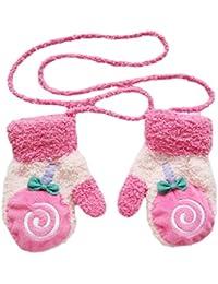 Laat Mignon guantes bebé Niños Toddler guantes fríos de invierno de terciopelo, velur, b, talla única