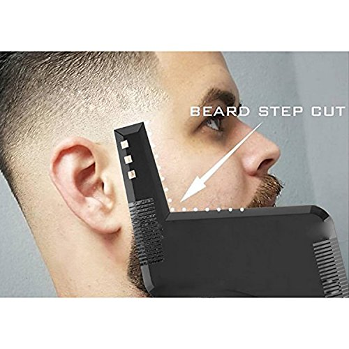 Beard-Shaping-Tool-Template-YSAGi-Beard-Styling-Comb-for-Line-Up-and-Edging-Mens-Facial-Hair-Style-Stencil