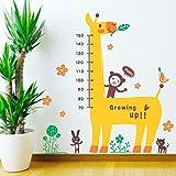 StickMe 'Cute Giraffe Wall Sticker ' - SM 006 ( PVC Vinyl - 100cm X 70 Cm )