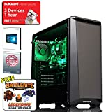 ADMI GAMING PC: AMD FX-8300 8 Core 4.2GHz CPU, GTX 1050 Ti 4GB Graphics Card, 8GB 1600MHz RAM, Seagate 2TB, Phanteks P400S, WiFi, Windows 10