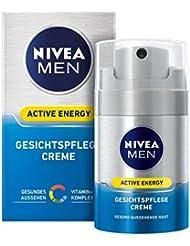 Nivea Men Active Energy Gesichtspflege Creme im 1er Pack (1 x 50 ml),  vitalisierende Gesichtscreme für Männer, Feuchtigkeitscreme gegen Anzeichen von Müdigkeit