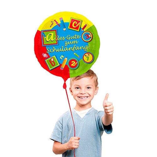 NEU Folienballon, Schulanfang, 45cm