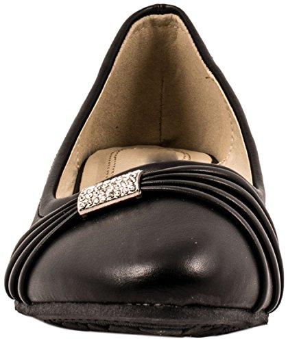 Elara , chaussons d'intérieur femme Noir