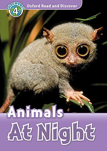 Oxford Read and Discover 4. Animals at Night MP3 Pack