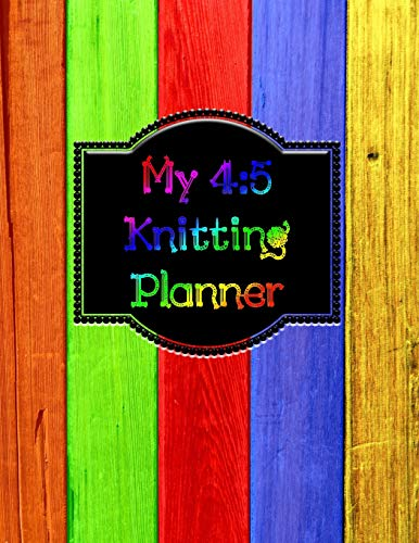 My 4:5 Knitting Planner: 200 Pages of Planning Space for Your Projects - Cap Sleeve Shrug
