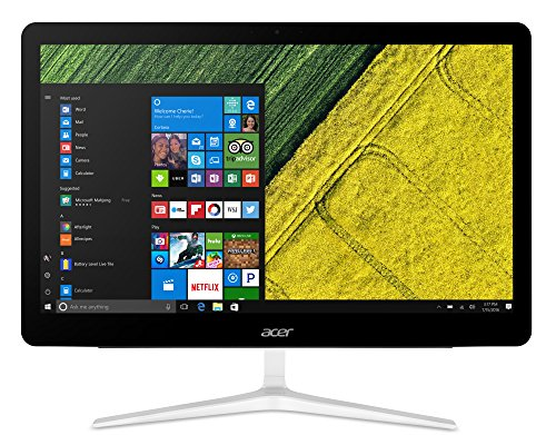Acer Aspire Z24-880 2.4GHz i5-7400T 23.8' 1920 x 1080Pixel Nero, Argento PC All-in-one
