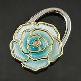 Whobabe Runde Phnom Penh Farbverlauf Rose Tasche Haken Metall Falttasche Schnalle Rose Lock