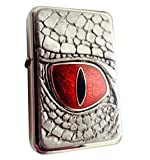 Best Star Lighters - Chrome Star Lighter with Pewter/Enamel Dragon Eye Emblem Review