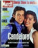 PARIS MATCH [No 2544] du 26/02/1998 - SHARON STONE - LE MARIAGE - DIANA - LA POLEMIQUE - LE PERE DOLI - LA MERE DE DIANA - CORSE - SAURA-T-ON UN JOUR ? PISTE DE LA MAFIA. CANDELORO ET OLIVIA. Bernard Bonnet nommE en Corse Jack Nicholson Jean-Luc CrEtier mEdaille d'or Karine Ruby surfeuse des neiges La rEsurrection des momies Mary Kay Letourneau emprisonnE pour avoir aimE son ancien El-Åve Mohamed Al Fayed crie au complot Muriel Robin Nastassja Kinski Philippe Candeloro Philippe Cand