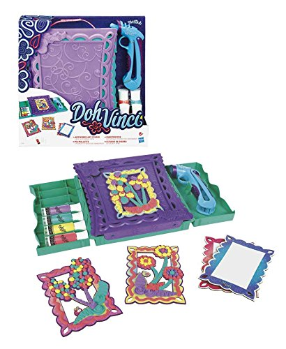 Play-Doh DohVinci  Anywhere Art Studio Playset