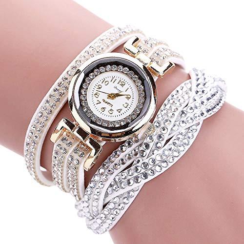 JZHJJ einfaches und stilvolles klassisches Armband Markenuhr Twist Damen Armbanduhr Ring niet Armbanduhr Damen Armbanduhr duy Marke beinhaltet: Armband,Armband Frauen,Armband männer Infinity Twist