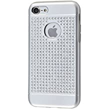 iShield 7 Luxury Cases with Crystals from Swarovski for iPhone 7 - Case Type: iShield 7 Luxus Silver