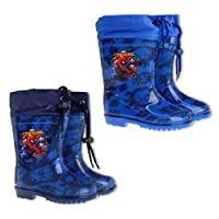 Spiderman Marvel Kids Wellies/Snow Boots Sizes 5-13 Available
