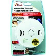 Kidde Kidde 900-0122 - Detector de humos y de monóxido de carbono (se activa mediante voz, silenciador)