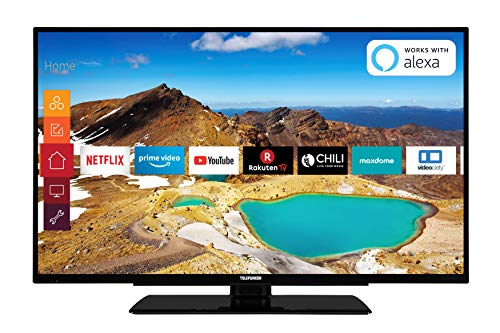 Telefunken XU43G521 109 cm (43 Zoll) Fernseher (4K Ultra HD, Triple Tuner, Smart TV, HDR10, Prime Video)