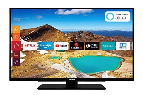 *Telefunken XU43G521 109 cm (43 Zoll) Fernseher (4K Ultra HD, Triple Tuner, Smart TV, HDR10, Prime Video)*