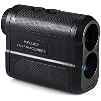 Docooler Golf Rangefinder Tragbarer Laser-Entfernungsmesser Digitaler Monokularteleskop Entfernungsmesser M/Yard Entfernungsmesser für Golf, Jagd, Bauwesen und Brandmeldesystem