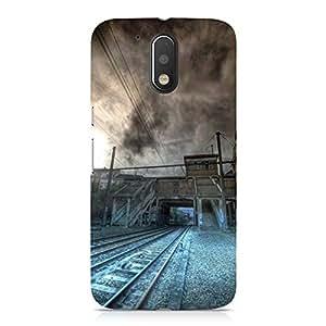 Hamee Designer Printed Hard Back Case Cover for Motorola Moto G4 Play Design 8229