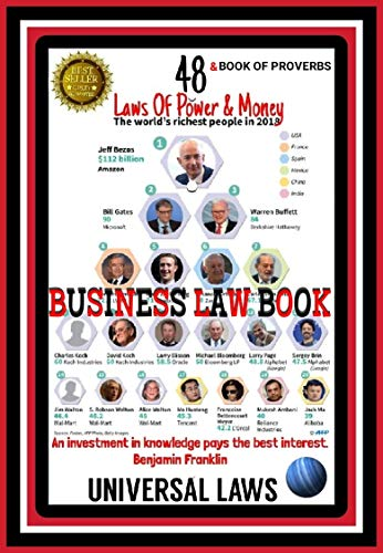 48 LAWS OF POWER: How To Obtain Money, Power, And Respect.: A Novel (Money Making Book 5) (English Edition)