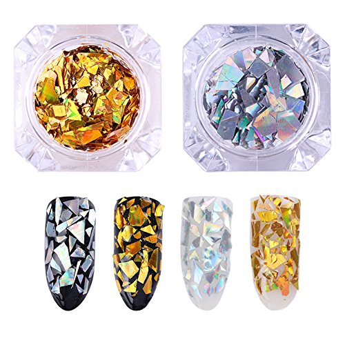 born-pretty-laser-nail-sequins-holographic-gold-silver-glitter-paillette-nail-art-flakes-2
