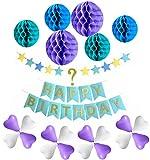 Compleanno con la tua wuensch numero, Compleanno Decorazione Set Happy Birthday, Festa di compleanno decorazione per ragazze e ragazzi ogni eta
