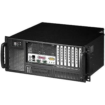 "Techly Chassis Industrial Rack 19/Desktop 4U Ultra Compact Black"" I-CASE MP-P4HX-BLK6 - Computer Cases (Rack, Server, Steel, ATX, Black, 4U)"